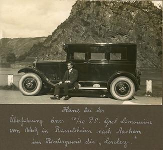 Hans mit Opel