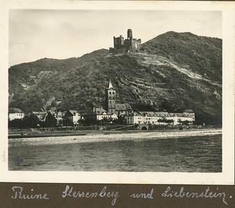 Ruine Sterrenberg und Liebenstein