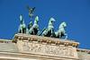 Horses atop Brandenburg gate