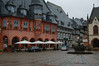 Hotel Kaiserwort on the Goslar Marktplatz, where we had a fine rainy-night dinner