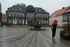 Goslar Marktplatz in the rain