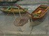 Model of eel-fishing
