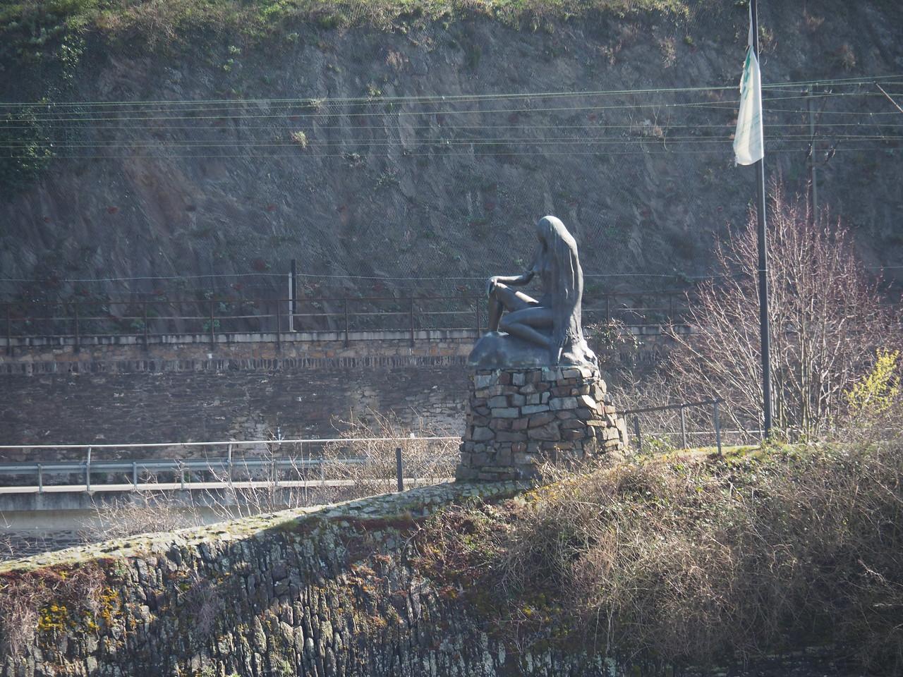 Lorelei Rock, Rhine River, Germany