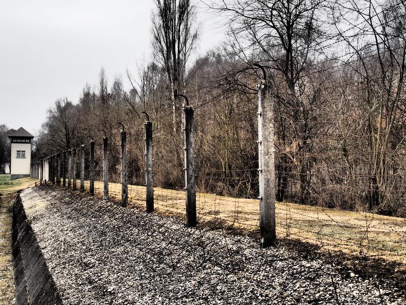 Dachau Fence