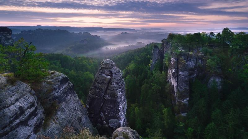 Bastei; Sächsische Schweiz; Germany