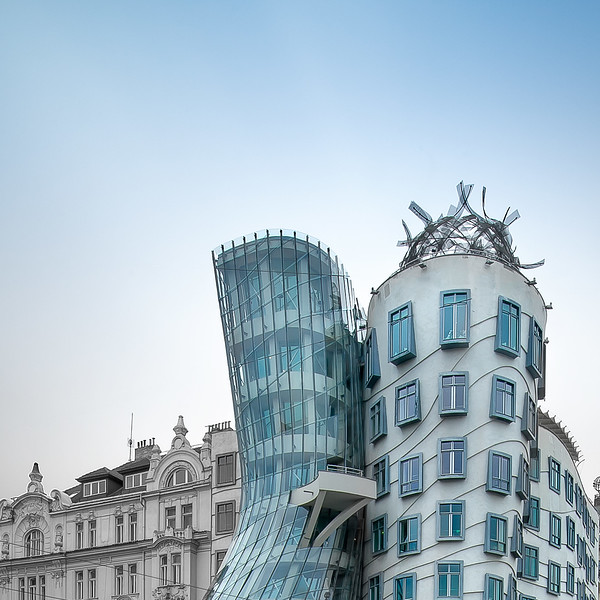 Dancing House; Prague; Czech Republic