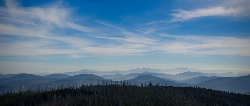 View from Lusen; Bayerischer Wald; Germany