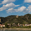 Fortress on the hill - Danube River