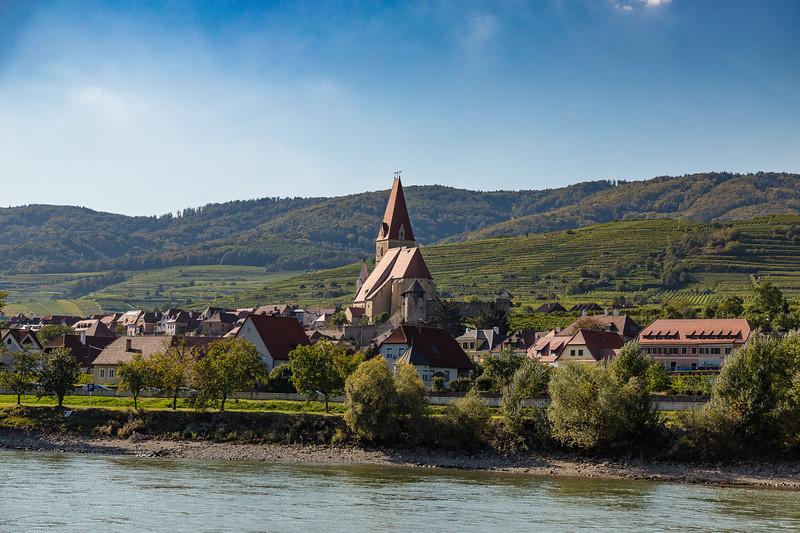 Along the Danube River