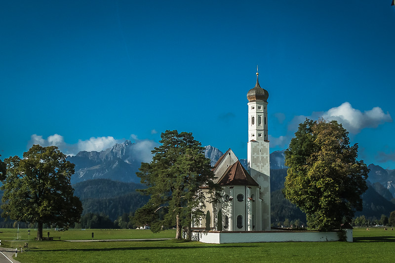 little church ~ on the way to Neuschwanstein