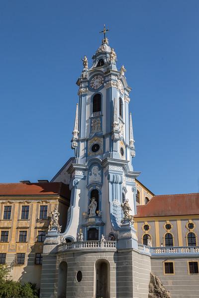 Church along the Danube River