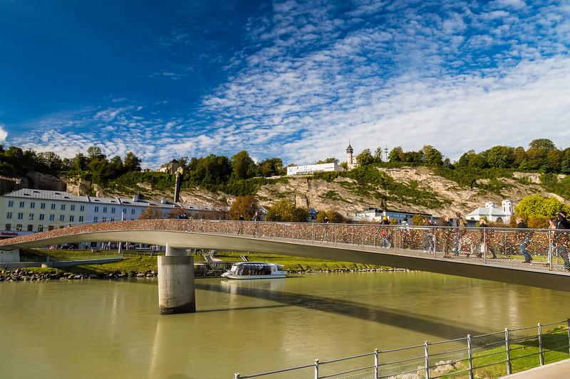 Padlock bridge ~ Saltzburg, Austria