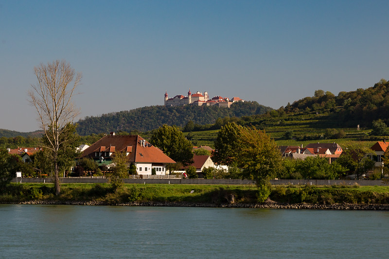 countryside castle - Danube River