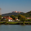 countryside castle - Danube River