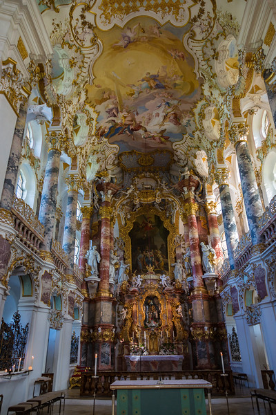inside of a small countryside church ~ Bavaria