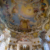 ceiling inside a small countryside church ~ Bavaria