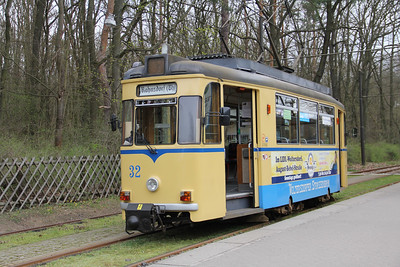 Woltersdorfer Strassenbahn 32 Rahnsdorf S_Bahnhof 2 Apr 16