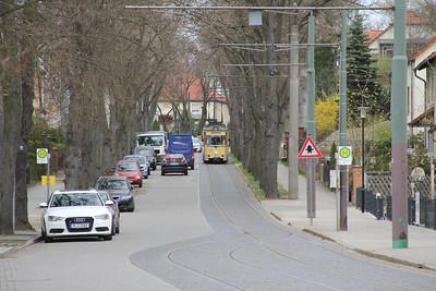 Woltersdorfer Strassenbahn 32 Schleusenstrasse Walterdorf 4 Apr 16