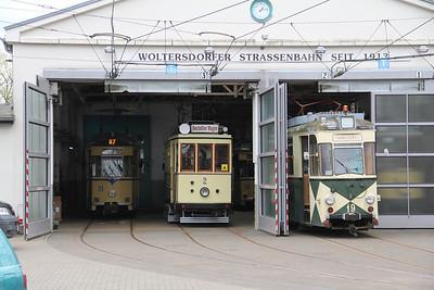 Woltersdorfer Strassenbahn Bahnhof 3 Apr 16