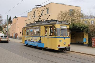Woltersdorfer Strassenbahn 32 Schleusenstrasse Walterdorf 3 Apr 16