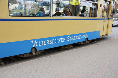 Woltersdorfer Strassenbahn 32 Thalmanplatz Walterdorf 1 Apr 16