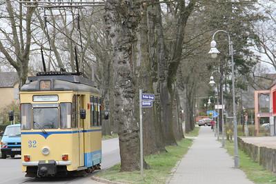 Woltersdorfer Strassenbahn 32 Thalmanplatz Walterdorf 3 Apr 16