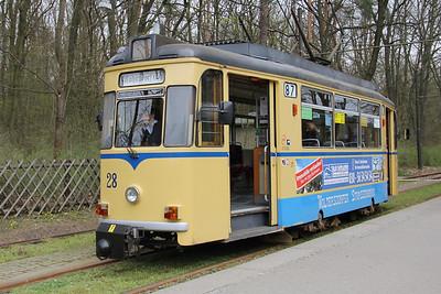 Woltersdorfer Strassenbahn 28 Rahnsdorf S_Bahnhof Apr 16