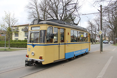 Woltersdorfer Strassenbahn 32 Thalmanplatz Walterdorf 2 Apr 16