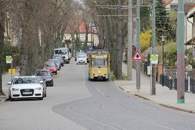 Woltersdorfer Strassenbahn 32 Schleusenstrasse Walterdorf 5 Apr 16