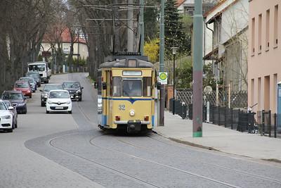 Woltersdorfer Strassenbahn 32 Schleusenstrasse Walterdorf 6 Apr 16