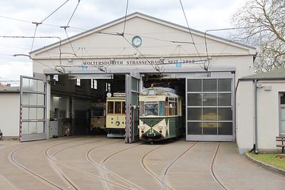 Woltersdorfer Strassenbahn Bahnhof 1 Apr 16