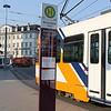 RNV 3251 plus RNV timetable plinth Bismarckplatz Heidelberg Mar 15