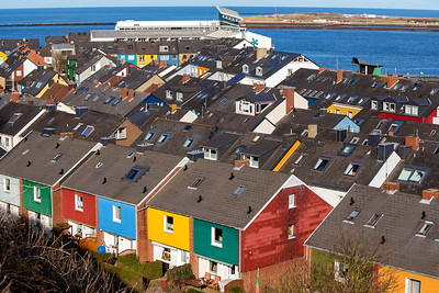 Residential area in Heligoland