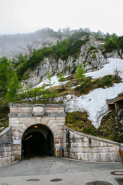Tennel Entrance to Access Eagle's Nest