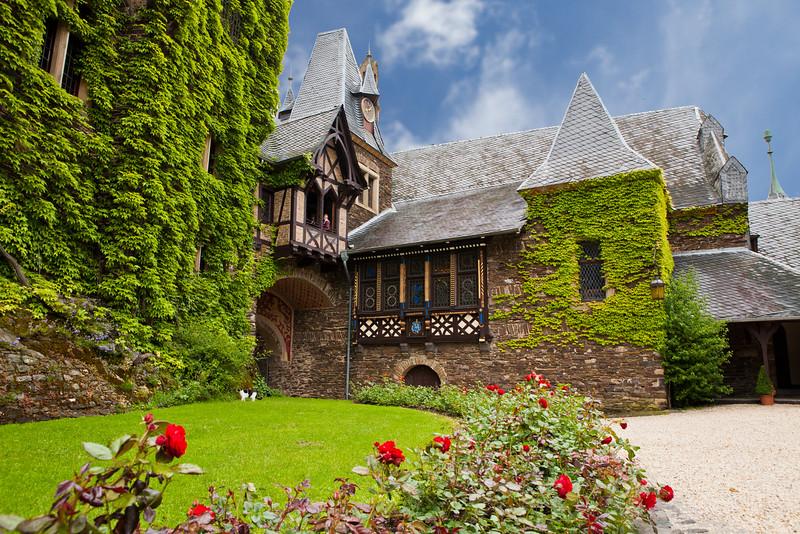 Castle in Cochem, Germany