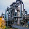 Duisburg, Landschaftspark Duisburg-Nord, i.e., an old Thyssen steel mill turned into a nature park