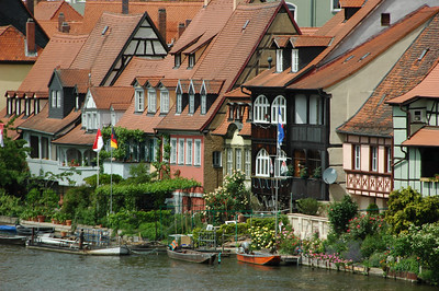 """Little Venice"", the houses of the fishermen and boatsmen."