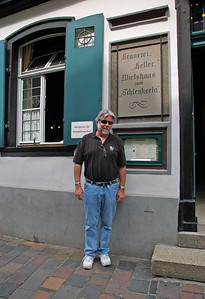 In front of Schlenkerla Tavern
