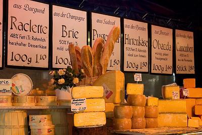 Munich's Viktualienmarkt Food Market