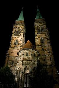 Nuremberg's Sankt Lozenz Kirche (Cathedral)