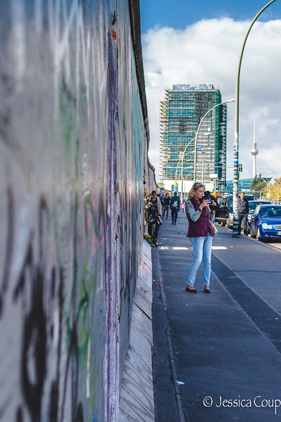 Photographing the Berlin Wall
