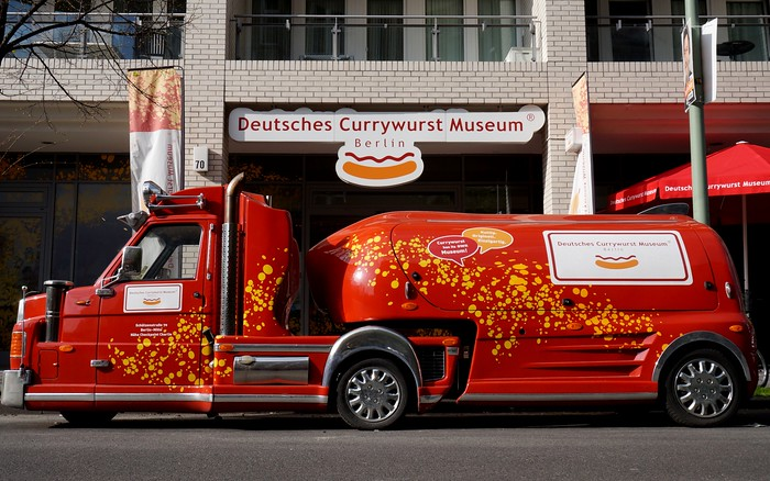 Getting to the Currywurst Museum