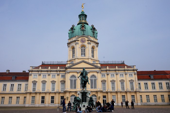 Charlottenburg Palace, the only surviving royal residence in Berlin