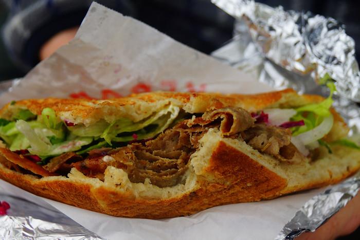 Doner Kebab in Berlin.