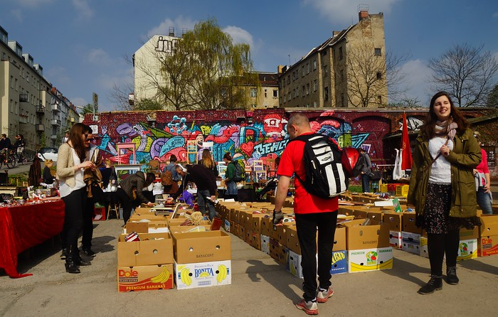 Sunday Flea Market in Friedrichshain