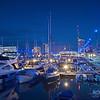 Blaue Stunde - Stadtansichten von Bremerhaven