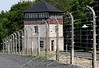 Buchenwald concentration camp, Weimar, 27 June 2004 3.  Watch tower and electric fence.