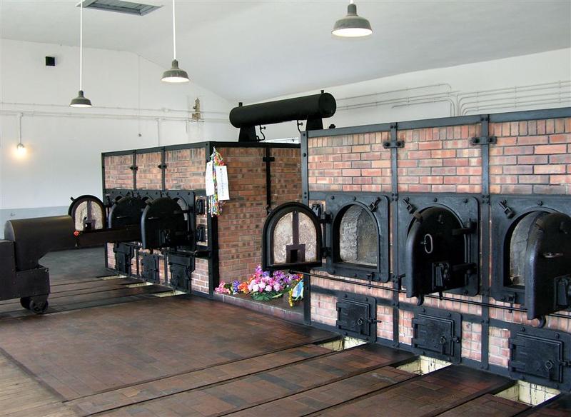 Buchenwald concentration camp, Weimar, 27 June 2004 6.  Inside the crematorium.