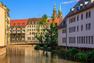 Häuser < Architektur, Lorenzkirche, Pegnitz