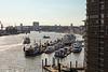 Hamburg Hafen, St. Pauli Landungsbrücken von der Elbphilharmonie